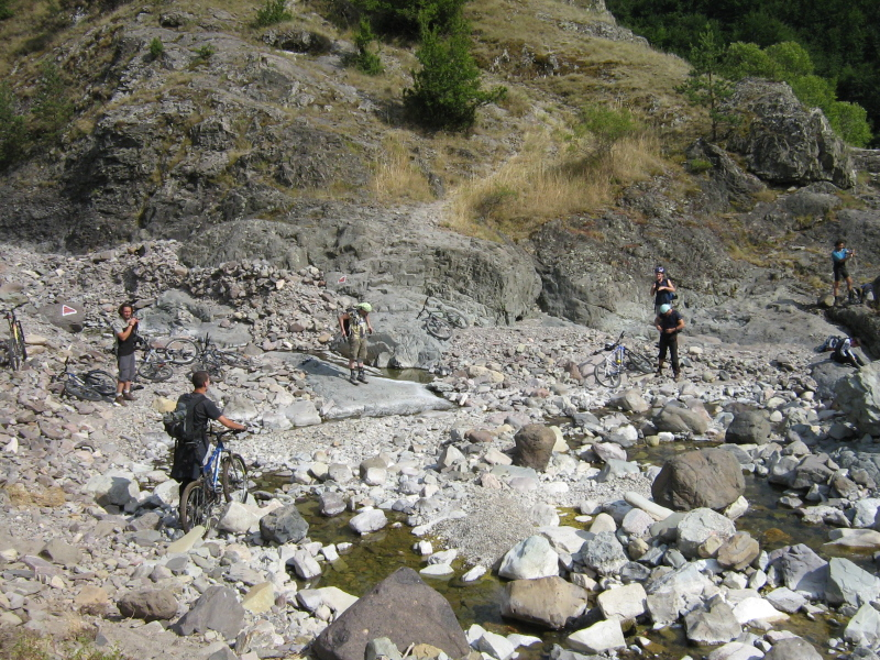 Preparing to cross from Western into the Eastern Rhodopi mountains